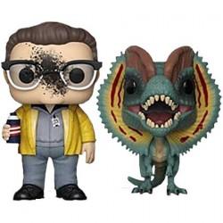 Figuren Pop Jurassic Park Dennis Nedry & Dilophosaurus Limitierte Auflage Funko Genf Shop Schweiz