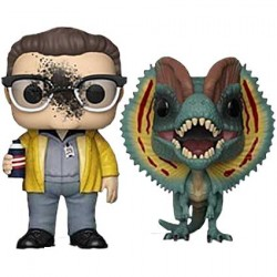 Figurine Pop Jurassic Park Dennis Nedry & Dilophosaurus Edition Limitée Funko Boutique Geneve Suisse