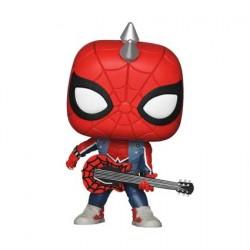 Figur Pop Marvel Spiderman Spider-Punk Limited Edition Funko Geneva Store Switzerland
