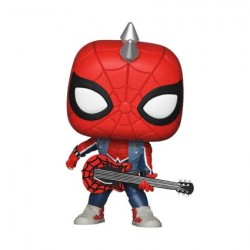 Figurine Pop Marvel Spiderman Spider-Punk Edition Limitée Funko Boutique Geneve Suisse