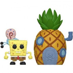 Figurine Pop 15 cm Town Spongebob with Pineapple Funko Boutique Geneve Suisse