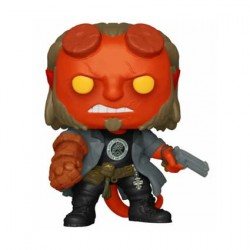 Figurine Pop Movies Hellboy whit BPRD Tee Funko Boutique Geneve Suisse
