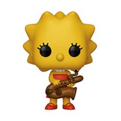 Figurine Pop Simpsons Lisa Simpson Funko Boutique Geneve Suisse