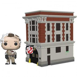 Figur Pop Town Ghostbusters Peter with House Funko Geneva Store Switzerland