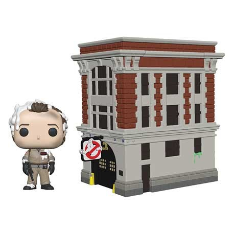 Figurine Pop Town Ghostbusters Peter with House Funko Boutique Geneve Suisse