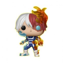 Figurine Pop Phosphorescent My Hero Academia Todoroki Edition Limitée Funko Boutique Geneve Suisse