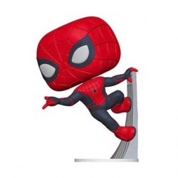 Figurine Pop Marvel Far from Home Upgraded Suit Spider-Man Funko Boutique Geneve Suisse