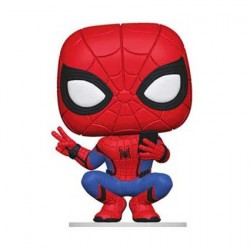 Figurine Pop Marvel Far from Home Hero Suit Spider-Man Funko Boutique Geneve Suisse