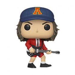 Figur Pop Rock AC/DC Angus Young with Red Jacket Limited Edition Funko Geneva Store Switzerland