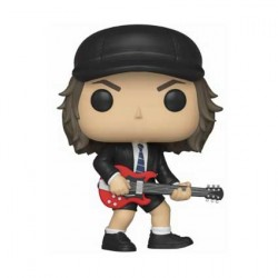 Figurine Pop Rock AC/DC Angus Young (Rare) Funko Boutique Geneve Suisse
