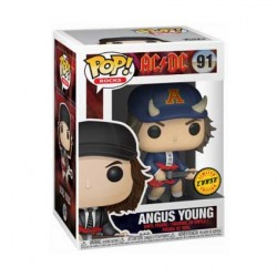 Figur Pop Rock AC/DC Angus Young Chase Limited Edition Funko Geneva Store Switzerland