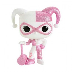Figur Pop DC Comics Diamond Harley Quinn Pink Glitter Limited Edition Funko Geneva Store Switzerland