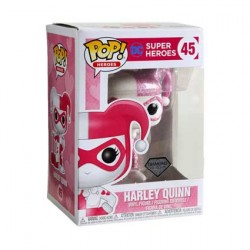 Figur Pop Diamond DC Comics Harley Quinn Pink Glitter Limited Edition Funko Geneva Store Switzerland