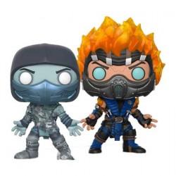 Pop Mortal Kombat X Scorpion and Sub Zero Edition Limitée