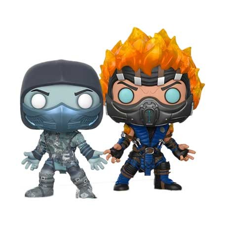 Figurine Pop Mortal Kombat X Scorpion and Sub Zero Edition Limitée Funko Boutique Geneve Suisse