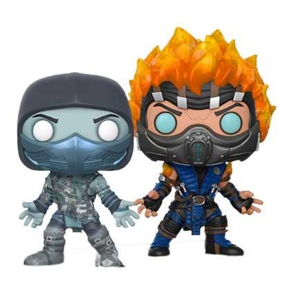 Toys Pop Mortal Kombat X Scorpion And Sub Zero Limited Edition Funk