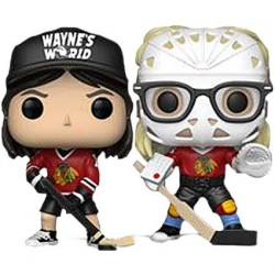 Figurine Pop Wayne's World Wayne & Garth in Hockey Gear Edition Limitée Funko Boutique Geneve Suisse