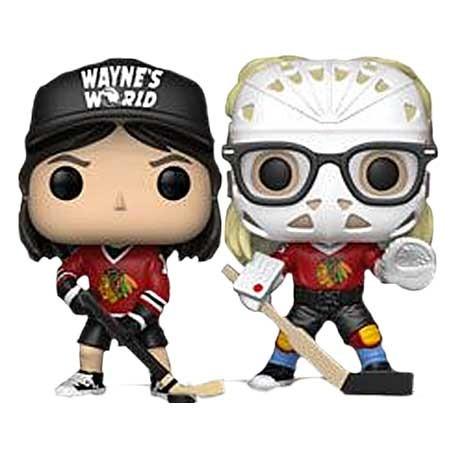 Figur Pop Wayne's World Wayne & Garth in Hockey Gear Limited Edition Funko Geneva Store Switzerland
