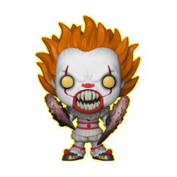 Figurine Pop It Pennywise with Spider Legs Phosphorescent Edition Limitée Funko Boutique Geneve Suisse