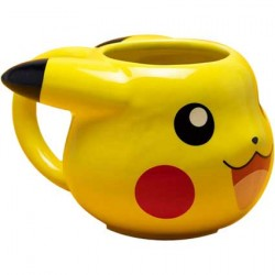 Figur Pokemon Pikachu 3D Mug Hole in the Wall Geneva Store Switzerland