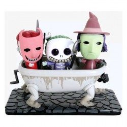 Figurine Pop The Nightmare Before Christmas Lock, Shock & Barrel in Bathtub Edition Limitée Funko Boutique Geneve Suisse