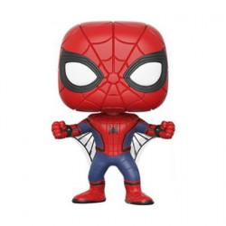 Figurine Pop Marvel Collector Corp Spider-man Homecoming Edition Limitée Funko Boutique Geneve Suisse