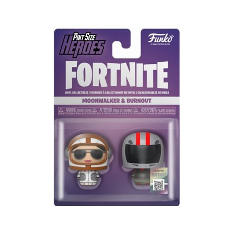 Figur Funko Pint Size Fortnite Moonwalker and Burnout 2-Pack Funko Geneva Store Switzerland