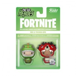 Figurine Funko Pint Size Fortnite Rex et Tricera Ops 2-Pack Funko Boutique Geneve Suisse
