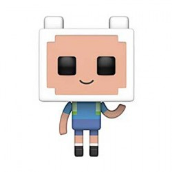 Figur Pop Cartoons Adventure Time Minecraft Finn Funko Geneva Store Switzerland