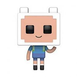 Figurine Pop Cartoons Adventure Time Minecraft Finn Funko Boutique Geneve Suisse