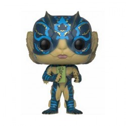 Figurine Pop Movies Shape of Water Amphibian Man with Card Funko Boutique Geneve Suisse
