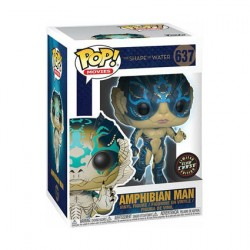 Figurine Pop Movies Shape of Water Amphibian Man Phosphorescent Edition Limitée Chase Funko Boutique Geneve Suisse