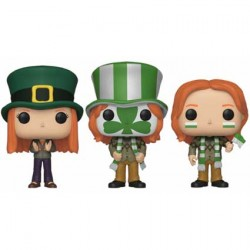 Figuren Pop ECCC 2019 Pop Harry Potter Ginny, Fred & George Weasley Quidditch World Cup 3-Pack Limitierte Auflage Funko Genf ...