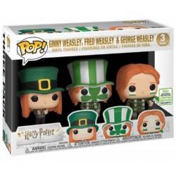 Figuren Pop ECCC 2019 Pop Harry Potter Ginny, Fred & George Weasley Quidditch World Cup 3-Pack Limitierte Auflage Funko Genf ...