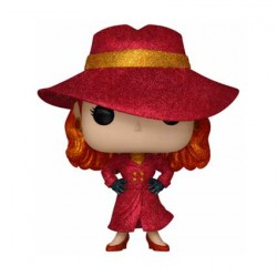 Figurine Pop ECCC 2019 TV Carmen Sandiego Carmen Diamond Edition Limitée Funko Boutique Geneve Suisse