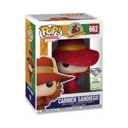Figurine Pop ECCC 2019 TV Carmen Sandiego Carmen Diamond Edition Limitée Funko Boutique Geneve Suisse