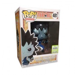 Figur Pop ECCC 2019 Fairy Tail Gajeel with Dragons Scale Limited Edition Funko Geneva Store Switzerland