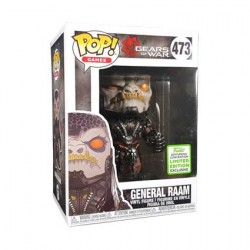 Figur Pop ECCC 2019 Gears of War General RAAM Limited Edition Funko Geneva Store Switzerland