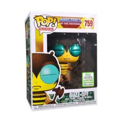 Figur Pop ECCC 2019 Masters of the Universe Buzz-off Limited Edition Funko Geneva Store Switzerland