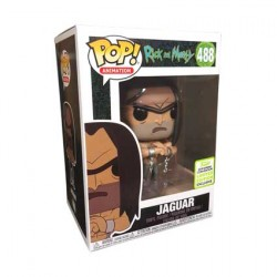 Figurine Pop ECCC 2019 Rick et Morty Shirtless Jaguar Edition Limitée Funko Boutique Geneve Suisse