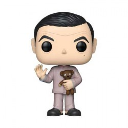 Figurine Pop Mr Bean in Pajamas Edition Limitée Chase Funko Boutique Geneve Suisse