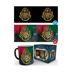 Figurine Tasse Thermosensible Harry Potter Hogwarts Crest (1 pcs) GB eye Boutique Geneve Suisse