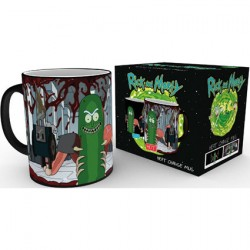 Figurine Tasse Thermosensible Rick & Morty Pickle Rick (1 pcs) GB eye Boutique Geneve Suisse