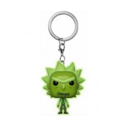 Figurine Pop Pocket Porte Clés Rick et Morty Phosphorescent Toxic Rick Edition Limitée Funko Boutique Geneve Suisse