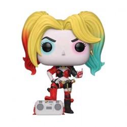 Figuren Pop Batman Harley Quinn with Boombox Rebirth Limitierte Auflage Funko Genf Shop Schweiz