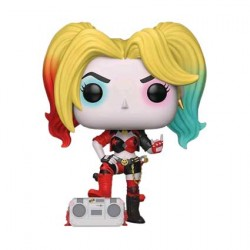 Figurine Pop Batman Harley Quinn with Boombox Rebirth Edition Limitée Funko Boutique Geneve Suisse