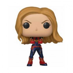 Figurine Pop Marvel Avengers Endgame Captain Marvel Funko Boutique Geneve Suisse