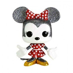 Figurine Pop Disney Minnie Mouse Diamond Glitter Edition Limitée Funko Boutique Geneve Suisse