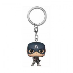 Figurine Pop Pocket Porte Clés Marvel Avengers Endgame Captain America Funko Boutique Geneve Suisse
