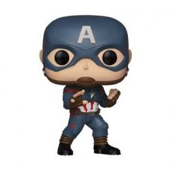 Figurine Pop Marvel Avengers Endgame Captain America Edition Limitée Funko Boutique Geneve Suisse